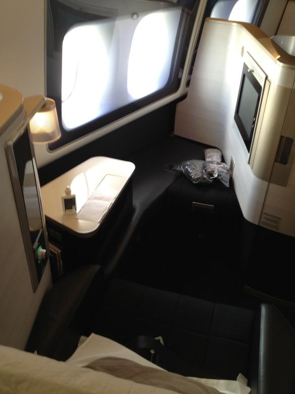 BA First Class Seat 777