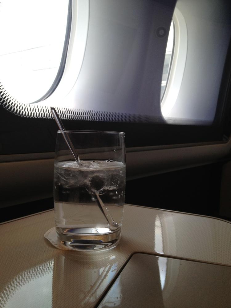 BA pre-flight beverage