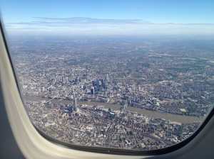 BA192 London flyover picture #1