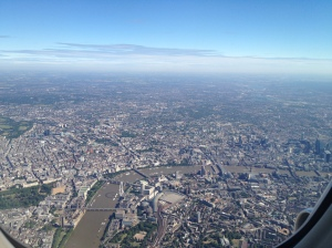 BA192 London flyover picture #2