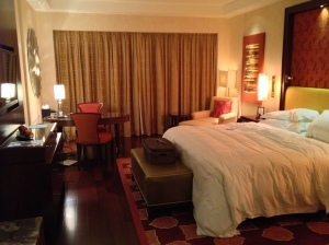 Ritz Carlton Bangalore Club Room Bedroom