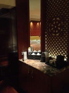 Ritz Carlton Bangalore Club Room Minibar