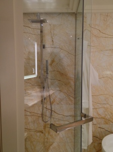 Ritz Carlton Bangalore Club Room Shower
