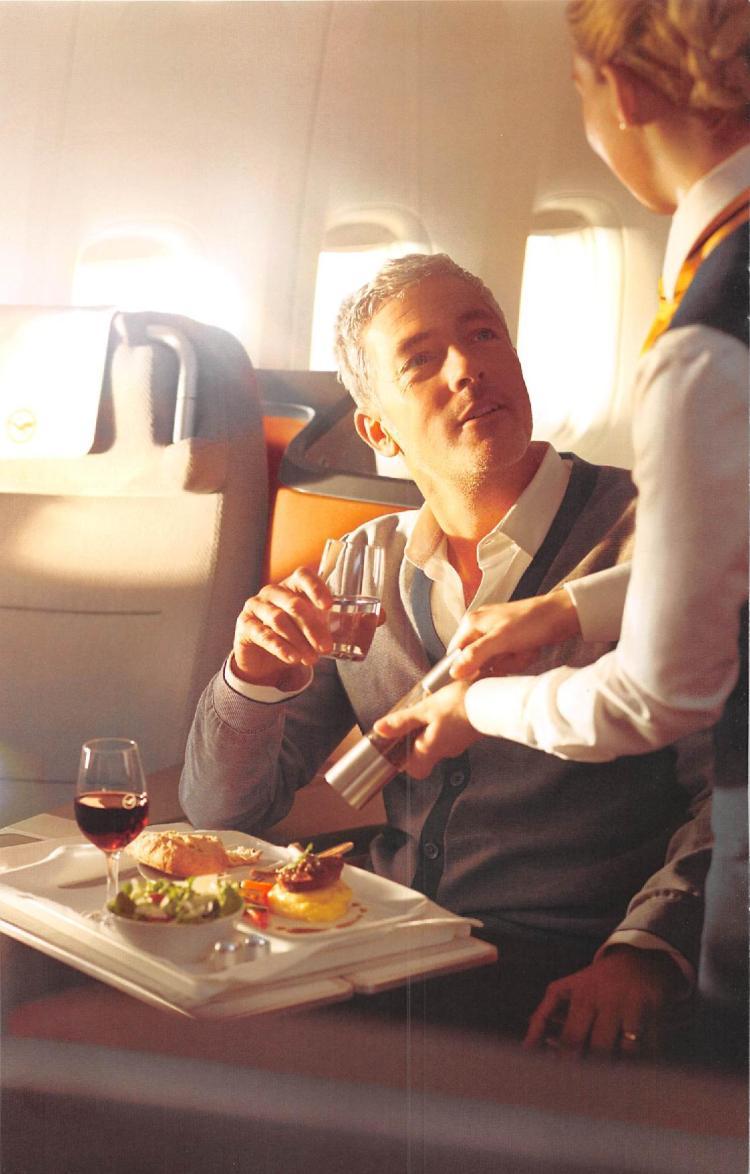 Lufthansa Business Class Menu - BLR to FRA-page-002