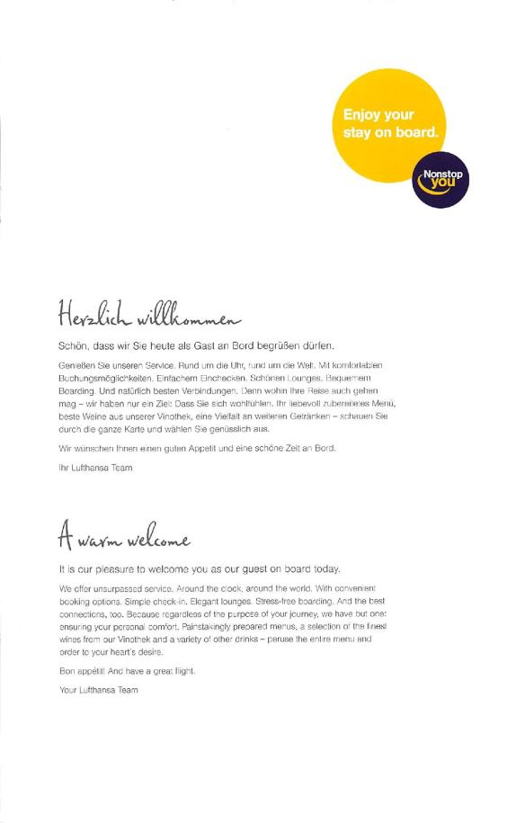 Lufthansa Business Class Menu - BLR to FRA-page-003