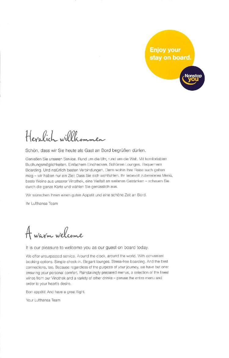 Lufthansa Business Class Menu - BLR to FRA-page-003