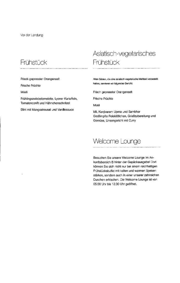 Lufthansa Business Class Menu - BLR to FRA-page-007