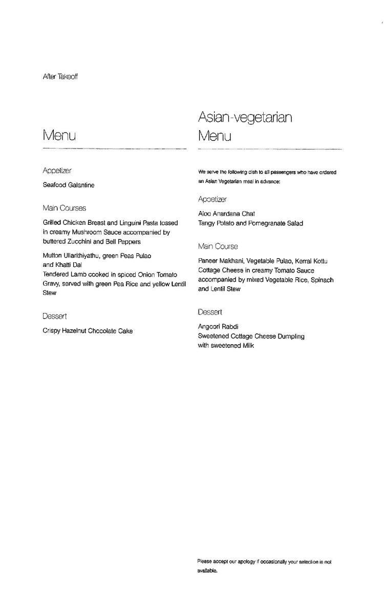 Lufthansa Business Class Menu - BLR to FRA-page-008