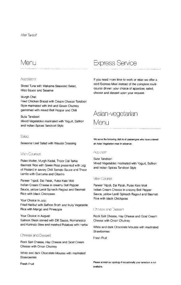 Lufthansa Business Class Menu - FRA to BLR-page-008