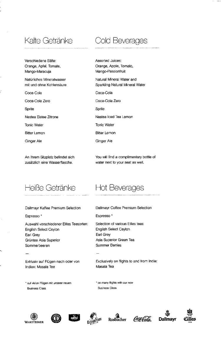 Lufthansa Business Class Menu - FRA to BLR-page-015